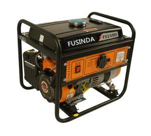 Benzine van het Gebruik van het huis de de Kleine Draagbare 1kw/Generator Fs1500 van de Macht van de Benzine