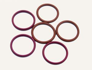 Kundenspezifischer Standard-nicht Standardsilikon-Gummi-O-Ring