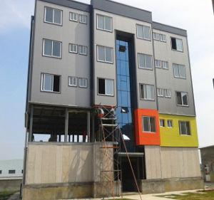 Struttura d'acciaio della costruzione residenziale di sviluppo dell'appartamento a più strati