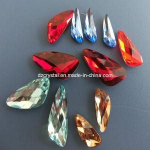 Parel van het Kristal van het Punt van Yiwu de Decoratieve Achter Kunstmatige voor Juwelen