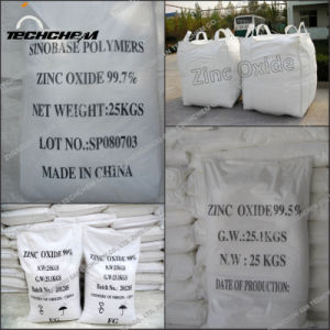 Oxyde 99% van het Zink van het Poeder van ZnO van de Rang van technologie Prijs van Fabriek