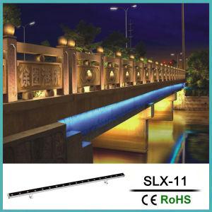 LED 18W de luz de la pared exterior con un solo color o RGB