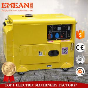Бесшумный дизельный генератор Dg6500lde-N (открывающиеся типа)