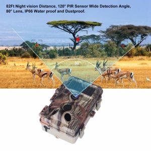 16MP 1080P Sendero de la Cámara de los animales de caza