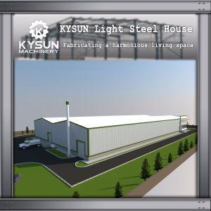 La industria de la luz de Almacén agrícola comercial Edificio de estructura de acero