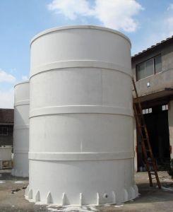 HDPE de Verticale Vlakke Tank van het Water van de Bodem
