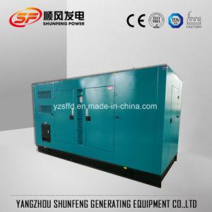 500квт электроэнергии молчания генераторная установка дизельного двигателя с звуконепроницаемыми навес