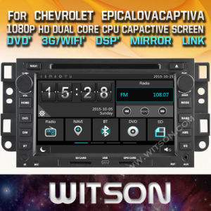 Automobile DVD dello schermo di tocco di Witson Windows per Chevrolet Epica Lova Captiva