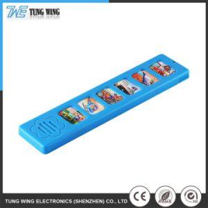 Pequenos brinquedos eléctricos de plástico colorido som engraçado intelectual do Módulo de voz