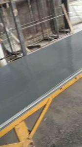 Plastique renforcé de fibre de verre plat (PRF) Feuille de toiture, panneau de toiture en fibre de verre