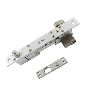 Modo ajustável Fail-Secure&Fail-Safe cheio de aço inoxidável sólido Micro porta deslizante trava do parafuso com a chave de emergência