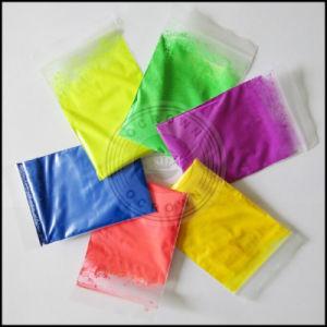 Pigmenti (al neon) fluorescenti della vernice di Plasti della tinta della resina di colore