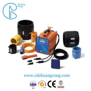 Água de plástico eletrofusão ou conexão do tubo de gases de Soldadura