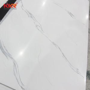 Kkr Pierre artificielle blanche Surface solide panneau mural (180930)