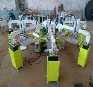 의복을%s 장비를 인쇄하는 원형 스크린