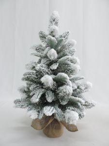 il PVC di 60cm si è affollato l'albero domestico artificiale della tela da imballaggio di natale della decorazione
