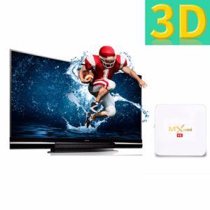 MXmini weißer Android IPTV Fernsehapparat-Kasten S905X 1g DDR 8g Emmc 4K mit Netflix 2.4G WiFi Fernsehapparat-Kasten 2017 Media Player