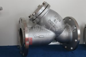 Фланец Y клапан сетчатого фильтра API фильтра (150 фнт)