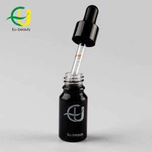 Aceite Esencial de negro de 10ml Frasco con gotero de aluminio