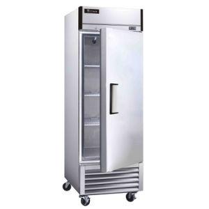 acier inoxydable armoire à vin réfrigérateur pour la vente d'affichage vertical 2 porte réfrigérateur commercial