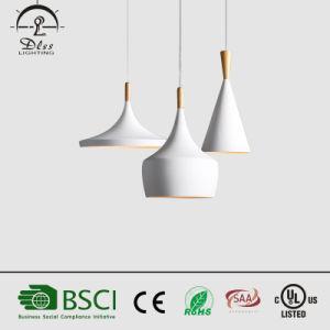 Italienische moderne Wood&Aluminium hängende Lampe für Wohnzimmer-Beleuchtung