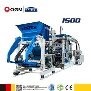 Alemania 1500 Zenith parado totalmente automática máquina de bloques de hormigón