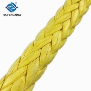 Resistência UV Diam 8-18 polegadas 65mm 12 Strand /Nylon/Poliamida poliéster/corda de flutuação/PP Corda Marinha trançada