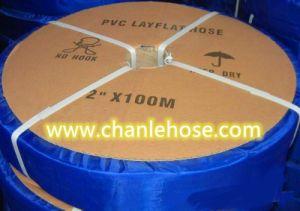 Layflat de PVC de alta pressão do tubo de borracha para a irrigação