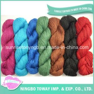 Superwash tricot de tecelagem de fio de fantasia de lã merino fino para HAT