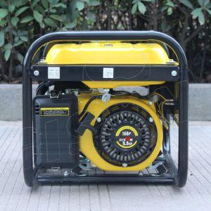 バイソン(中国) BS2500h 2kw 2kVA中国の製造者販売のための円形フレームの単一フェーズのGsolineの発電機