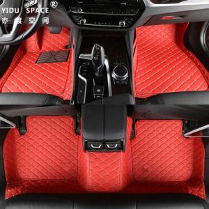 Venda por grosso Eco-Friendly PU Leather Custom Anti Slip 5D Tapete do carro