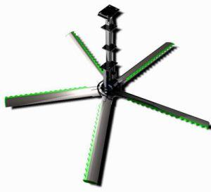 Ridewind Hvlsの産業天井に付いている扇風機のよくより大きいろばのファン/Enviraの北のファン/緑葉カンランのファン