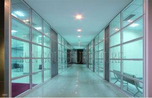 Un divisorio dello schermo dell'ufficio di Aluminumd e 2016 nuovi di vetro moderni (SZ-WS571)