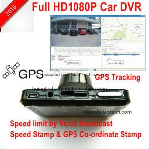 ルート、5.0megaソニーImx Exmorの夜間視界のカメラを追跡するGPSの新しい私用デザイン2.7inch WiFi移動式車のダッシュのカメラDVR; デジタルビデオレコーダーDVR-2709