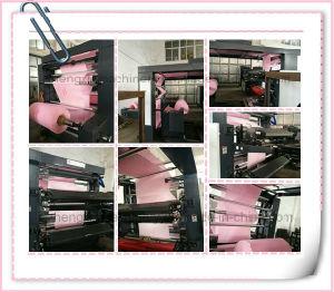 Не Flexographic тканого Four-Color печатной машины цены (ZXH-C41200)