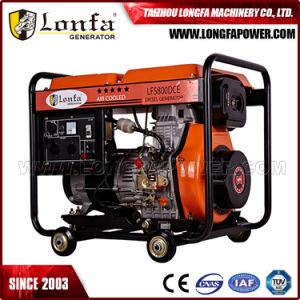 3.3KVA однофазный дизельный генератор для использования в домашних условиях