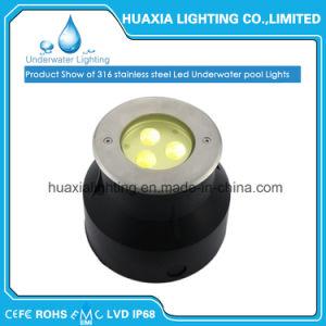防水Compeletlyのための引込められたUndertater LEDのプールライト