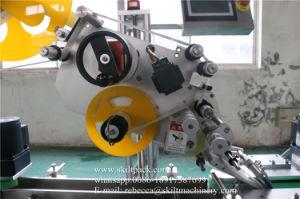 Sac automatique boîte carton autocollant supérieur de l'étiquetage de l'applicateur d'étiquette la machine