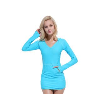 Casquilhos inteiriços, Swimsuit Lycra moda moda praia mulheres Abrir Sportsuit personalizada