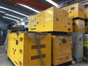 Трехфазного переменного тока 40квт/50 ква дизельный генератор с бесшумный корпус