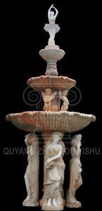 La nature de marbre Statue décoratif de jardin de sculpture sur pierre Fontaine à eau