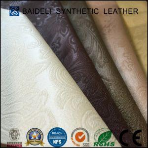 Мягкость ПВХ синтетическая кожа для домашней мебели/гостиную мебелью и современными диван