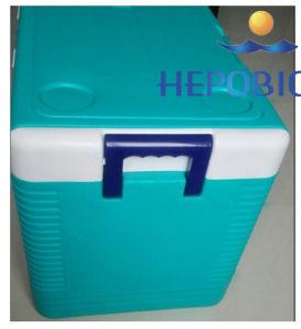 64L vaccin médical bordée de glace du boîtier de refroidisseur de la climatisation mini-frigo sac de glace