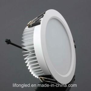 3000k aquecem as luzes de painel brancas 12W do diodo emissor de luz do círculo com 100lm/W