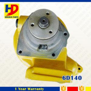 De gele die Pomp van het Water van de Kleur 6D140 voor Dieselmotor wordt gebruikt