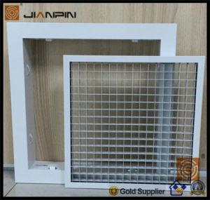Registro de HVAC Eggcrate aluminio Rejilla de la caja de huevo