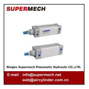 DNC Festo vorbildliches Standarddoppelt-verantwortlicher pneumatischer Zylinder ISO-15552