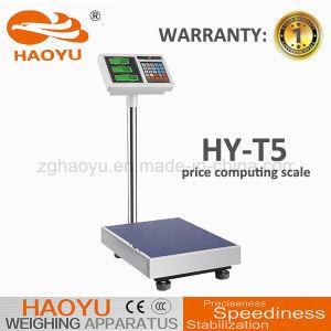 Precio de Electrónica Digital Báscula de plataforma informática para la industria alimentaria 30kg.