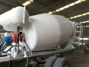 Bétonnière Truck Body/Mixer 5.5Cbm du tambour