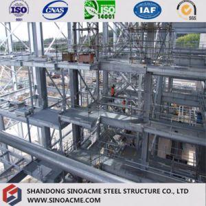 Certificado CE Multi-Storey edificio comercial de la estructura de acero prefabricados